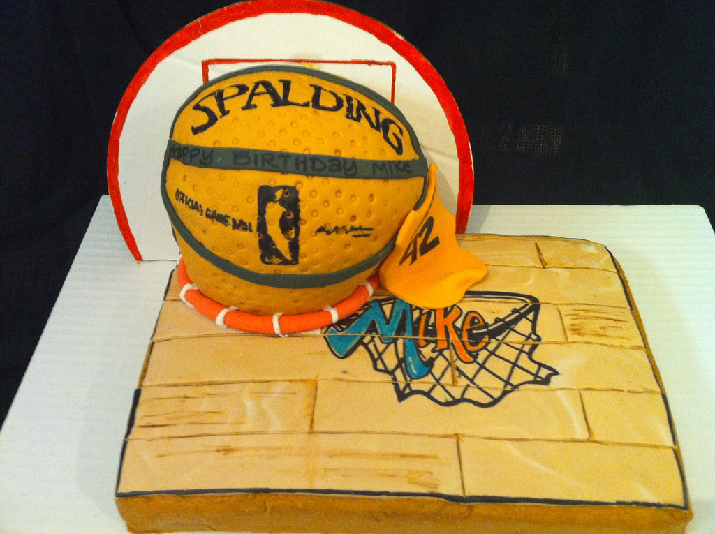Picture Of A Basketball Cake