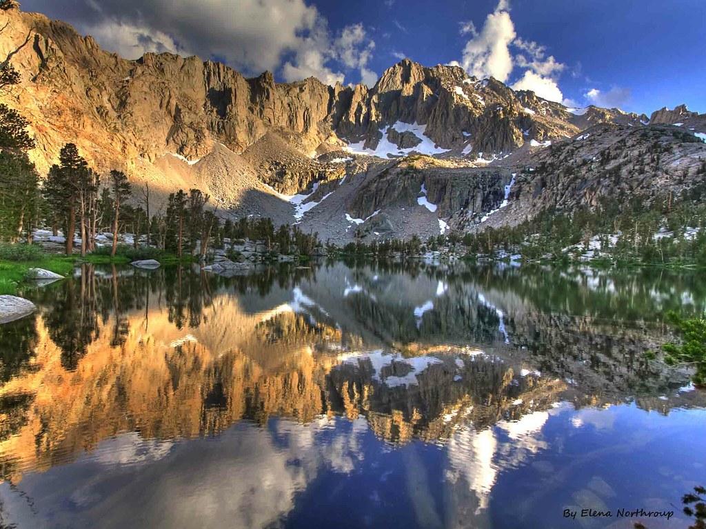 Morning At Matlock Lake High Sierra California View On