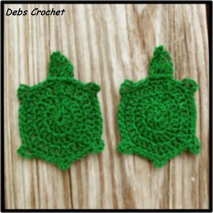 Turtle applique free crochet pattern thread debs1967s flickr turtle applique free crochet pattern thread by debscrochet dt1010fo