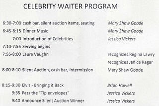 Celebrity Waiter Program | by richies