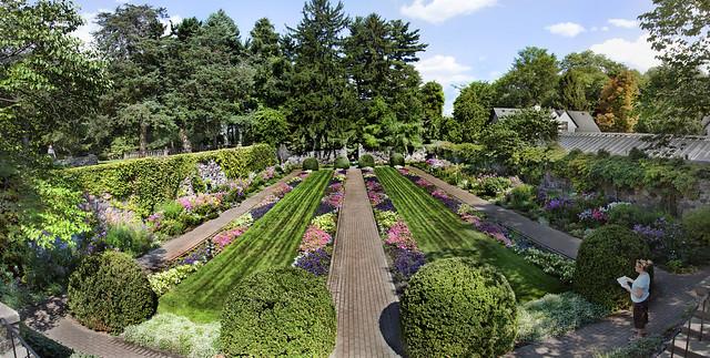 Cranbrook Gardens Panorama