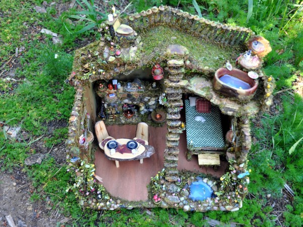 ... Fairy House With Fairy Furniture | By Torisaur