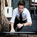 Up the ladder,  Olivier, Next Canada Model | davidgiralphoto.com