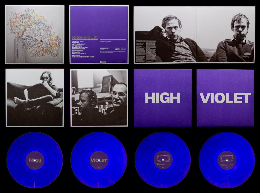 The National High Violet The National High Violet 4ad