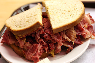 katz's corned beef sandwich | by David Lebovitz
