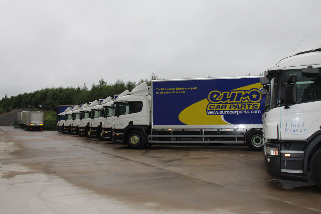Euro Car Parts Keltruck Ltd Supply A Brand New Fleet Of Sc Flickr