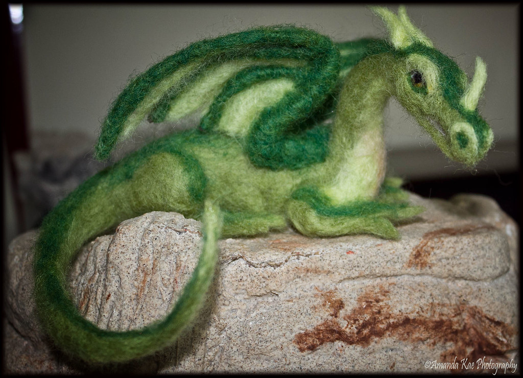 needle felted dragon | Amanda Kae's Photoz | Flickr