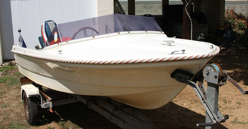 dinghy rocca rubis boat        1975