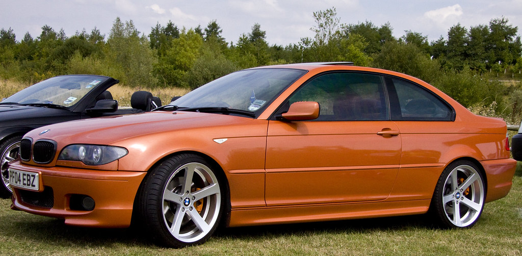 Bmw E46 Coupe Lovely Striking Colour Anyone Know Its