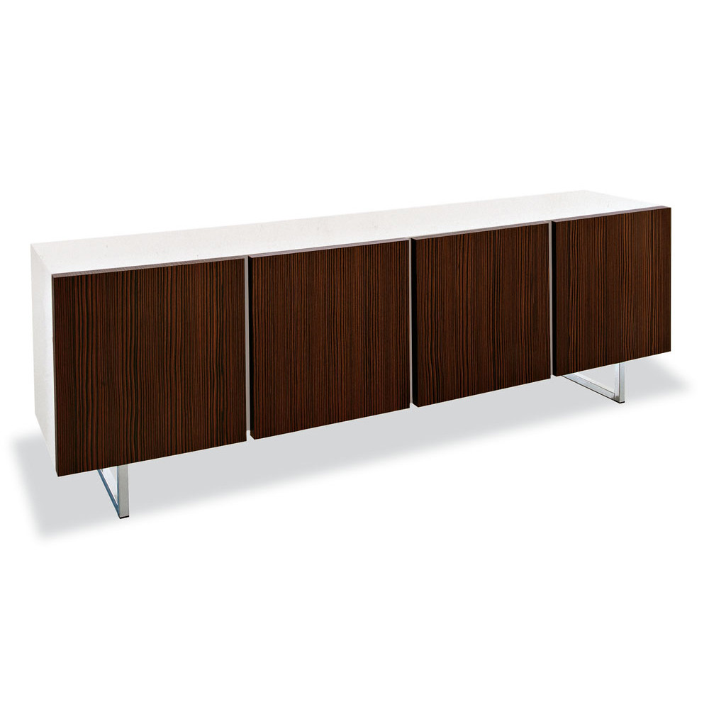 Calligaris seattle 4 door buffet enjoy plenty of storage for In mod furniture