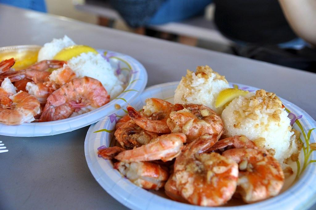 Hawaii Food Truck Shrimp