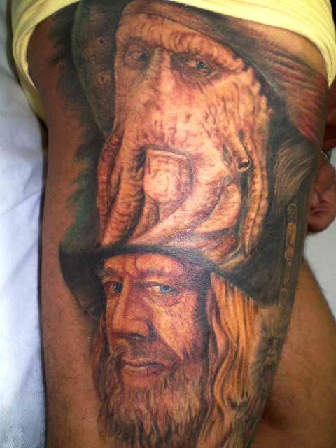 piratas do caribe termino da tattoo do piratas do caribe flickr. Black Bedroom Furniture Sets. Home Design Ideas