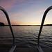Sunset swimming pier II