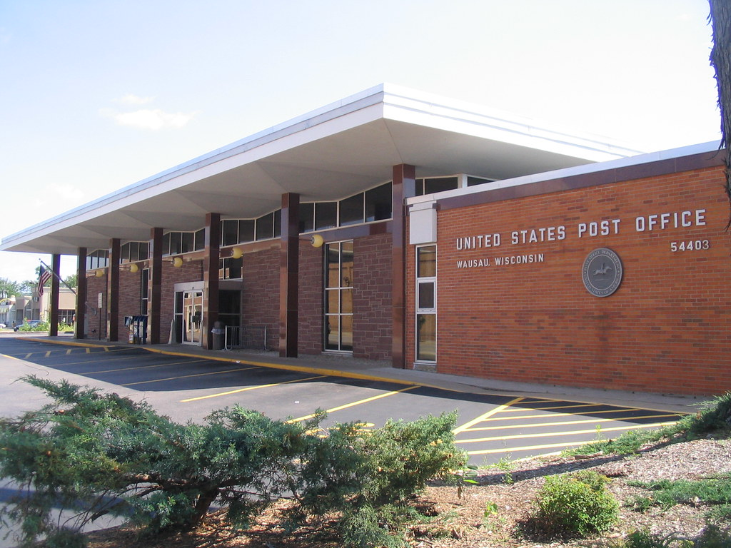 Groovy 1960s Post Office Wausau Wi Great Mid Century
