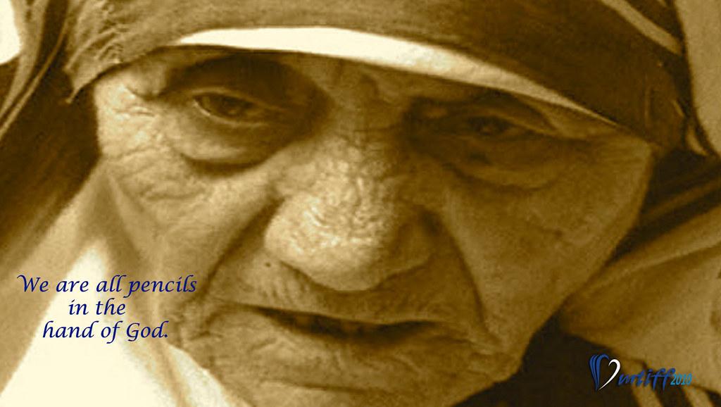 Mother Teresa Quotes Wallpaper Fred Miller Flickr