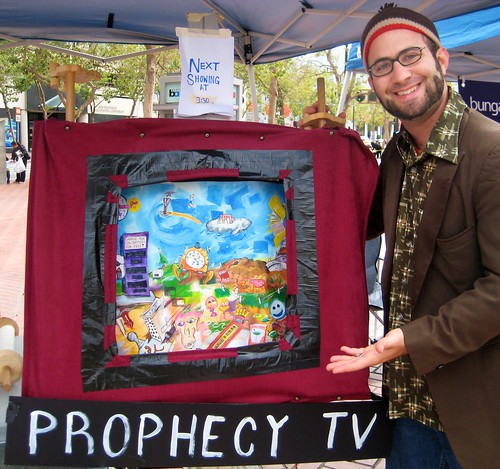 Presenting the Prophecy TV at the Arts Market San Francisco | by Todd Berman