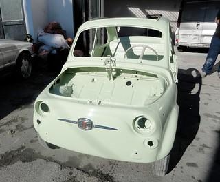 fiat 500 d model 1964 suicide door from ricambi fiat 500 s. Black Bedroom Furniture Sets. Home Design Ideas
