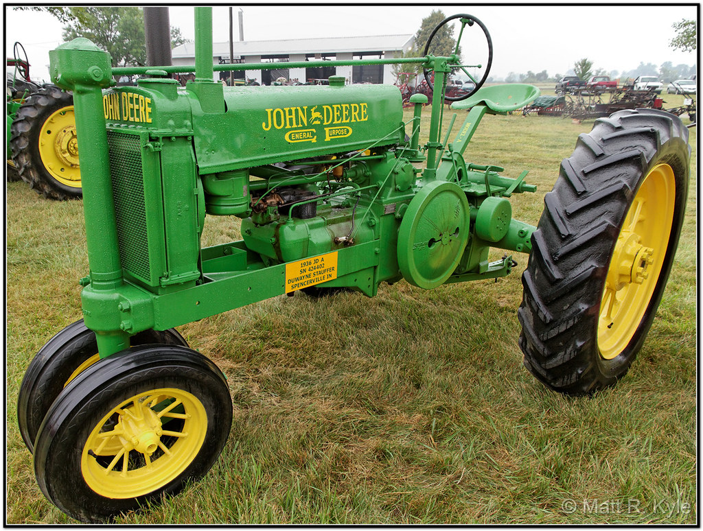 1936 John Deere General Purpose Model Quot A Quot Deere