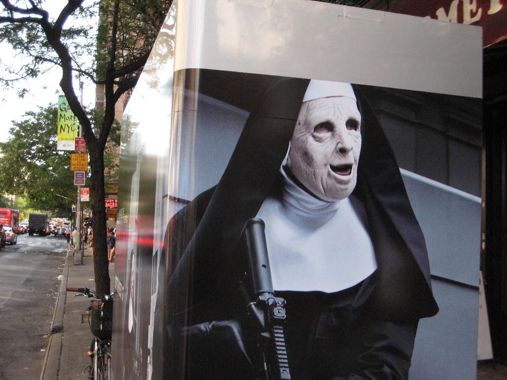 Crime Nun - Creepy The Town Movie Poster 3167
