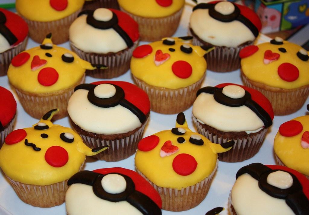 Pokemon Cupcakes Angel Geisler Flickr