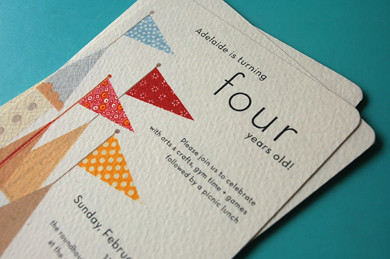 a turning four-years-old invitation | I've made some ...
