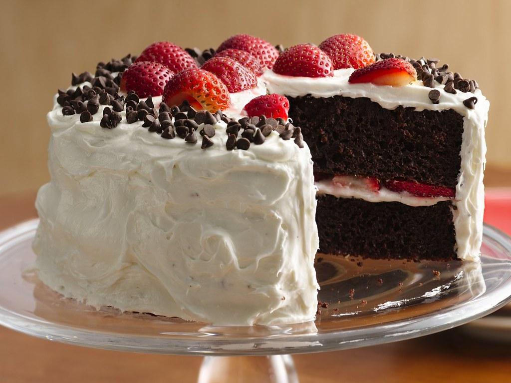 Betty Crocker Strawberry Yogurt Cake Recipe