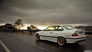 e36 M3 on Mt.Lemmon | by DryHeatPanzer