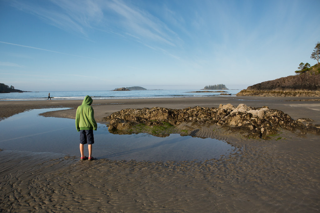 Tide pool at Mackenzie Beach