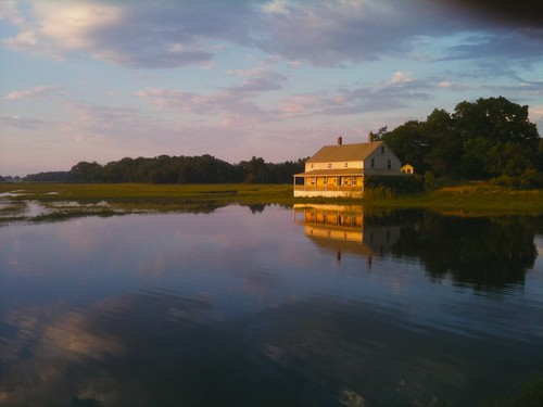 Ipswich River: Sunset at the summer solstice. | by j.legasey