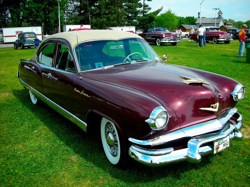 Ny Car Show >> 1953 Kaiser Dragon - Rhinebeck, NY, Car Show   Bluejacket   Flickr