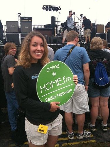 Big Ticket Festival 2010- Christina Riske and a HOME Dot! | by homefm