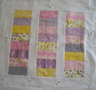 stacked coin doll quilt | by vickivictoria