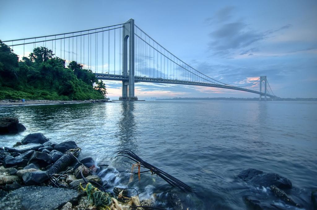 Staten Island Bridge Hudson River