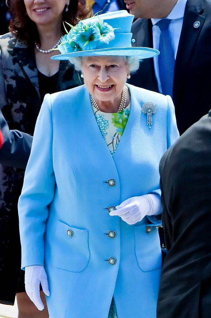 Queen Elizabeth Visits Ottawa For Canada Day