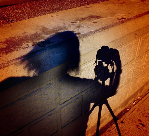 Photographer, Camera and Tripod: Shadow Self Portrait, Spirit Within | by Dominic's pics
