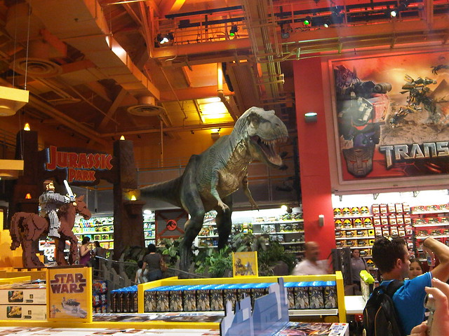 Dinosaurs Toys R Us : The famous toys r us dinosaur this was added way back