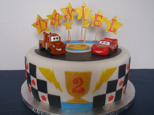 Disney Cars Birthday Cake: This Cake Was For My Grandson Who