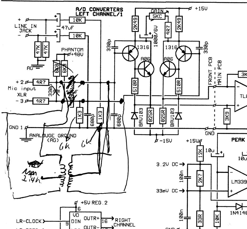 ada8000 transformer mod