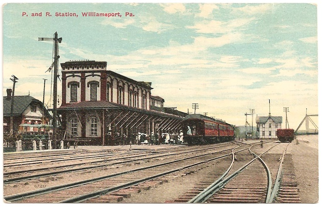 Another Old Reading Railroad Station