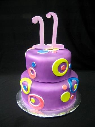 Торт девочке на 11 летием