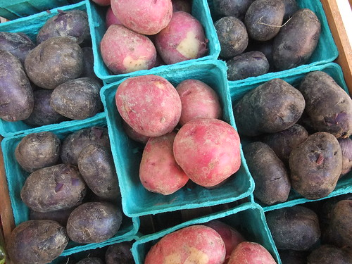 Red and Blue Potatoes | by swampkitty