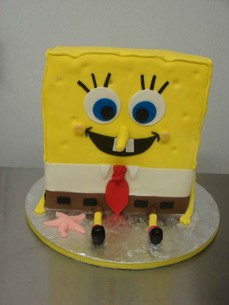 Spongebob Squarepants Cake Images
