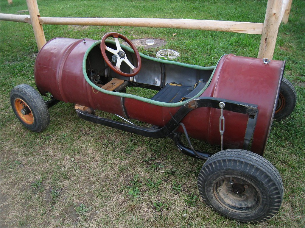Homemade Go-cart, Lenox MA | Well, this certainly isn't ...