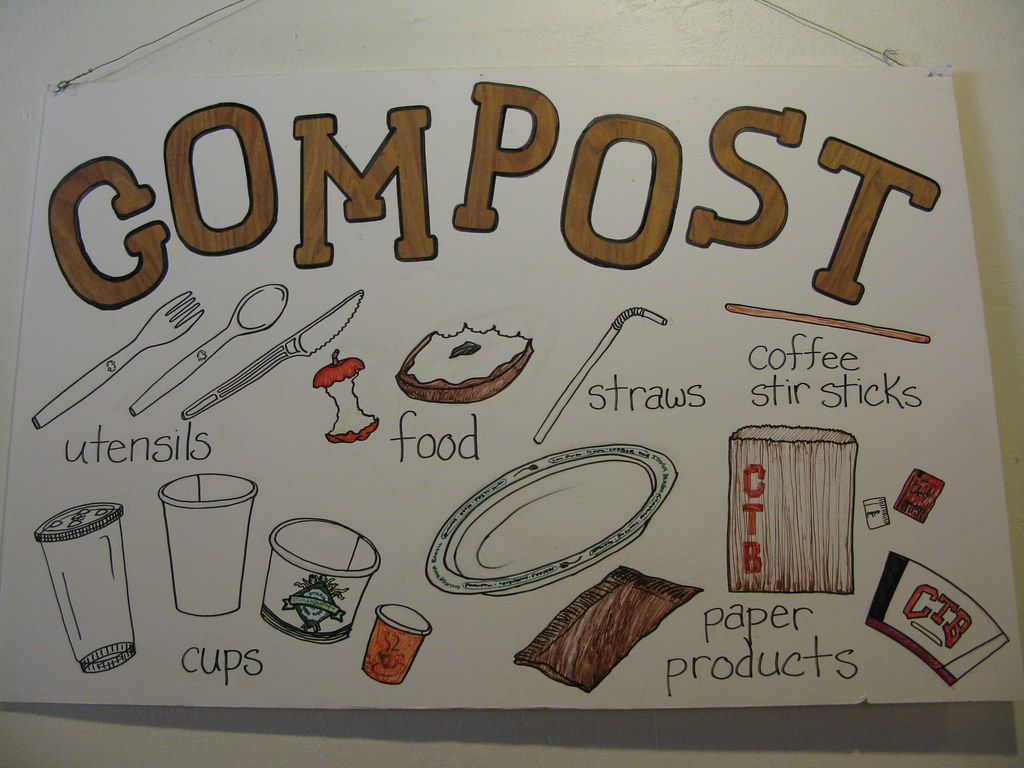 Compost Bin Sign