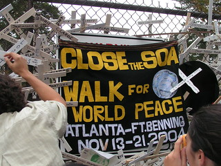 Close the SOA / Walk for World Peace | by matt.voigts