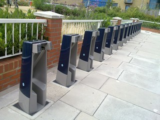 Cycle hire docking stations | by celesteh