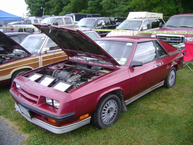 1985 Plymouth Turismo 2.2 | Carlisle All-Chrysler Nationals,… | Flickr