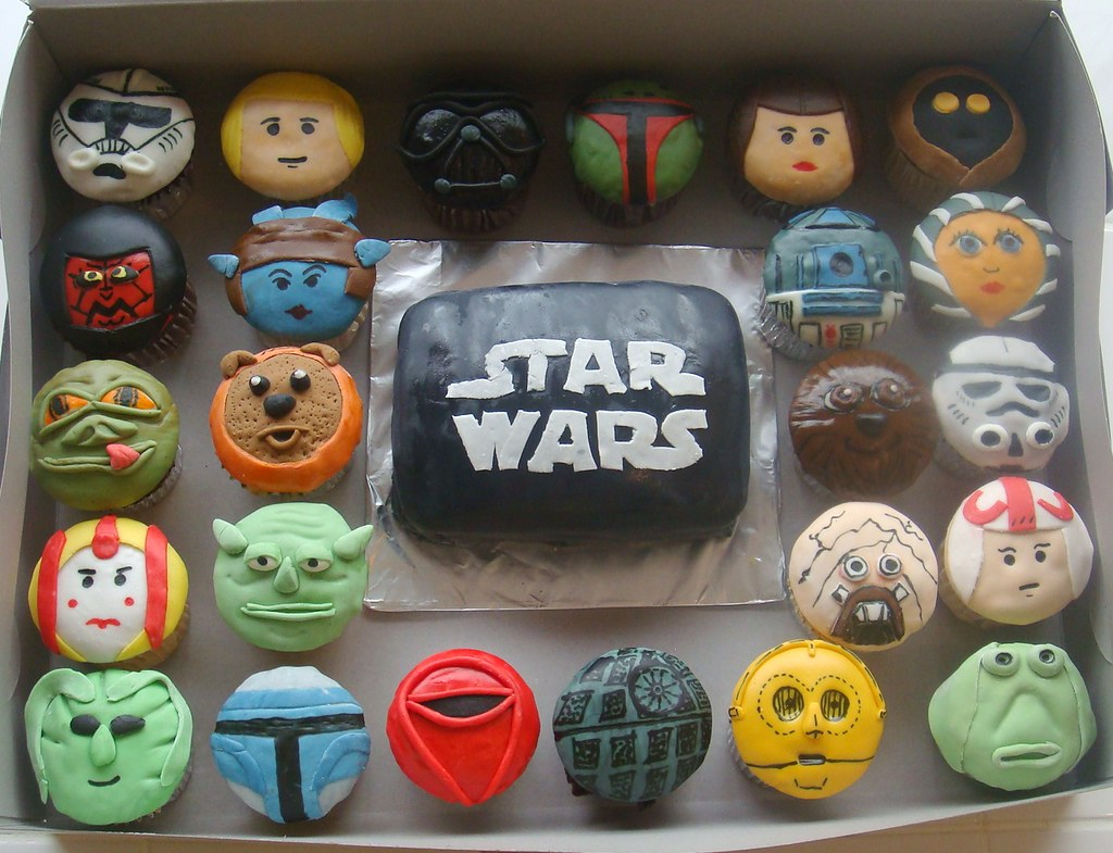 starwars cupcakes flickr