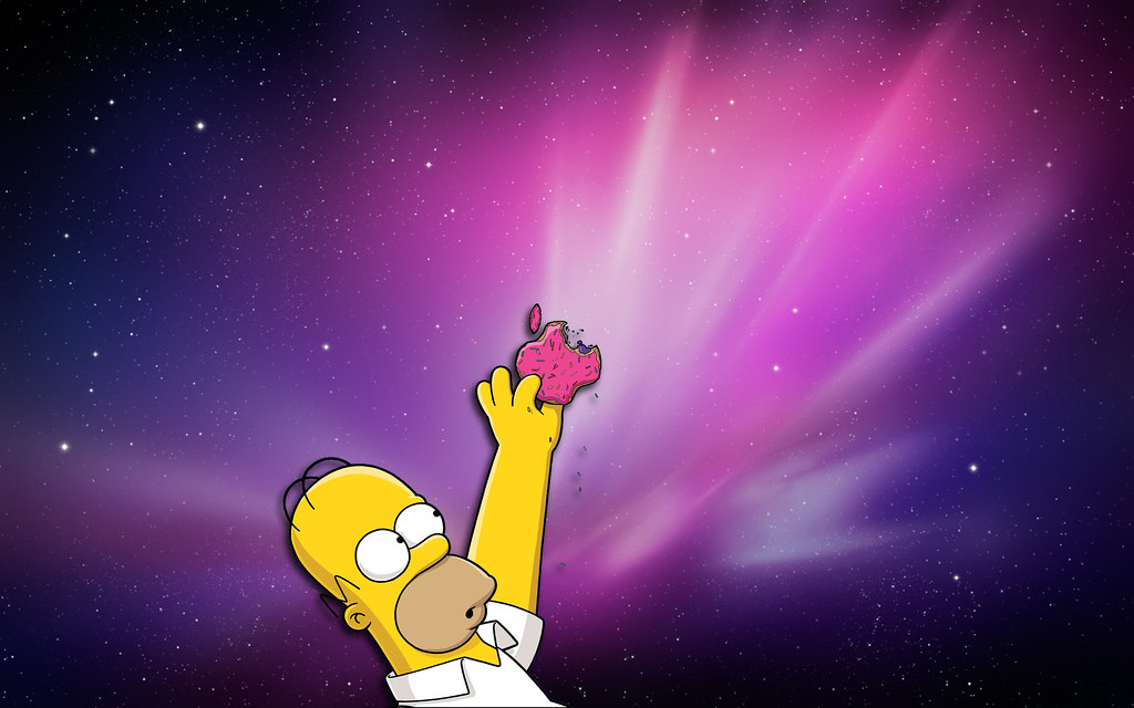homer simpson wallpaper apple