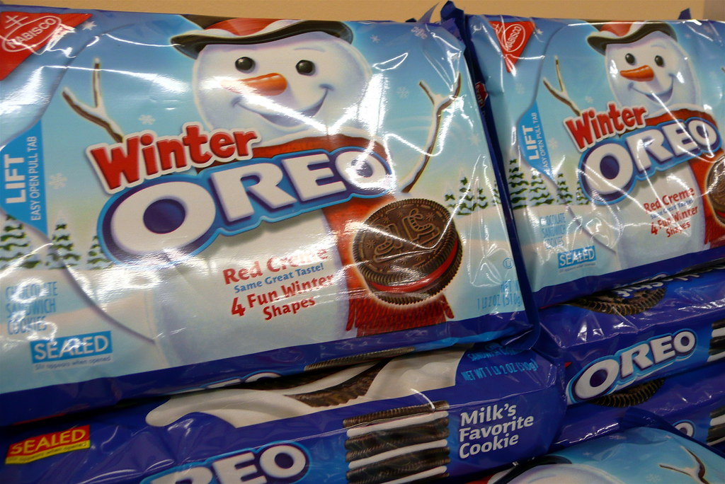 winter oreos at king soopers scorpions and centaurs
